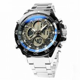 WEIDE – WH-1103-1: Dual Time Dual System Alarm Chronogragh Sport Watch