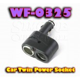 WF-0325 Car Twin Power Socket