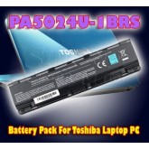 Battery Pack For Toshiba Laptop PC - PA5024U-1BRS, PA5025U-1BRS, PA3819U-1BRS, PABAS259, PABAS260…