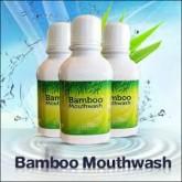 bamboo mouthwash น้ำยาบ้านปาก แบมบู วอช สกัดจากเยื่อไผ่ ดูแลสุขภาพช่องปากและฟัน  450 บ.
