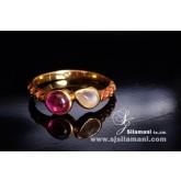 แหวนทับทิม มูนสโตน DNRIS1845