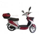 รถจักรยานยนต์ไฟฟ้า DEWECO Idol 420 Red
