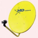 Sonar จานรับสัญญาณ KU-BAND รุ่น SD-K60Y สีเหลือง