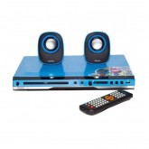 Sonar เครื่องเล่นดีวีดี+ลำโพง รุ่น W-960 (สีฟ้า / ดำ)