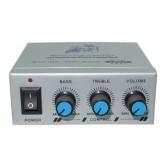 MC ROCK EXFIRE Motorcycle Amplifier รุ่น MTC-150 - Silver