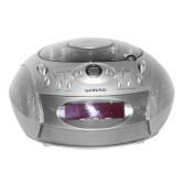 Sonar เครื่องเล่น วิทยุ พร้อมนาฬิกาปลุก รุ่น SP-CD45 - Bronze