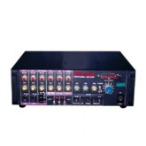 Mc Rock Stereo Power Mixer Digital Echo Karaoke รุ่น STA-DA300 - Black