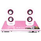 Sonar เครื่องเล่น DVD รุ่น UX-V111P (สีชมพู)