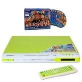 เครื่องเล่นดีวีดีSonar DVD Player-รุ่น F-11สีเขียว แถมฟรีแผ่นVCD เปาบุ้นจิ้นตอนแผนลวงครองอำนาจ 1ชุด