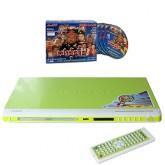 เครื่องเล่นดีวีดี Sonar DVD Player - รุ่น F-14 สีเขียว+VCD เปาบุ้นจิ้น