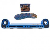 Sonar เครื่องเล่น ดีวีดี ลำโพง รุ่น W-960 (สีฟ้า)+แผ่นVCD เปาบุ้นจิ้น 10 แผ่น