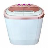 เครื่องซักผ้า 2 ถังสีชมพู Sonar รุ่น EW-S260