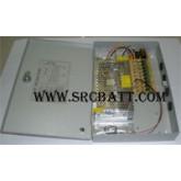 CCTV Power Supply สำหรับกล้องวงจรปิด และอื่นๆ 12V/10A (9 ช่อง)