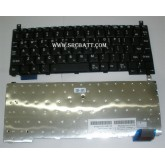 Keyboard Notebook สำหรับรุ่น Toshiba Protige M300 PR150 (TO-05) คีย์บอร์ดโน๊ตบุ๊ก แถมสติ๊กเกอร์