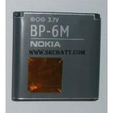 แบตเตอรี่มือถือ Nokia BP-6M ความจุ 1100mAh ของแท้ (NK-20) Battery Mobile