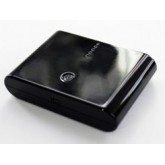 แบตเตอรี่สำรอง (ความจุ 10000 mAh) สำหรับ (Mobile) สีดำ + สายชาร์จ iPhone 5/iPad Mini/iPod 5