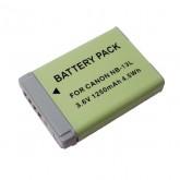 แบตเตอรี่ สำหรับกล้องดิจิตอล Canon รหัส NB-13L ความจุ 1250mAh (Battery Camera)