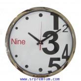 นาฬิกาแขวนผนัง 12.5นิ้ว รหัส 822