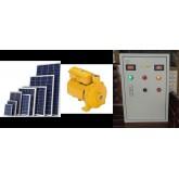 ระบบสูบน้ำโซล่าเซลล์ Solar cell pump 3แรงม้า