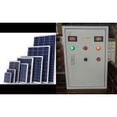 ระบบสูบน้ำโซล่าเซลล์ Solar cell pump 3แรงม้า220โวลท์1เฟส มีปั้มอยู่แล้ว