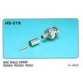 BNC RG59 คีมบีบ