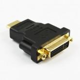 ตัวแปลง HDMI ตัวเมียแปลงเป็น DVI  ตัวผู้