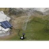 ปั้มน้ำพุพลังแสงอาทิตย์ ขนาด1.2วัตต์ ขนาด 150ลิตร/ชั่วโมง