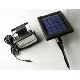 โคมไฟพลังงานแสงอาทิตย์ ขนาดหลอด LED 28 หลอด 5 โวตต์