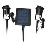 โคมไฟพลังงานแสงอาทิตย์ ขนาดหลอด LED 12 หลอด โคมละ 6 หลอด