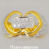 แหวนทองคำแท้ 90 พร้อมเพชรแท้เบลเยียม 0.72 กะรัตแหวนทองคำแท้ 90 พร้อมเพชรแท้เบลเยียม 0.72 กะรัต