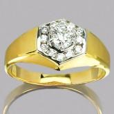 แหวนทองคำแท้ 90 พร้อมเพชรแท้เบลเยียม 0.55 กะรัต สินค้ามีใบรับประกันจากทางร้านทุกชิ้น