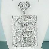 จี้ทองคำแท้90  ประดับเพชรเบลเยี่ยมแท้  1.65  กะรัต  สวยงาม ทันสมัย ดีไซร์สวย น่ารักมากๆ สินค้ามีใบรั