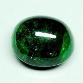 พลอยกรีนการ์เน็ต 1 เม็ด 62.82 กะรัต อัญมณีสีเขียวสดสวย