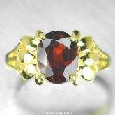 แหวนพลอยทองคำแท้ 90 ประดับพลอยโกเมน  2.62 กะรัต สินค้ามีใบรับประกันจากทางร้านทุกชิ้น