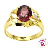 แหวนพลอยทองคำแท้ 90 ประดับพลอยโกเมน 2.26 กะรัต   สินค้ามีใบรับประกันจากทางร้านทุกชิ้น
