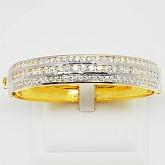 กำไลทองคำแท้ 90 ประดับเพชรแท้เบลเยียม 5.18 กะรัตสินค้ามีใบรับประกันจากทางร้านทุกชิ้น