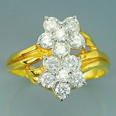 แหวนทองคำแท้ 90 ประดับเพชรแท้เบลเยียม 0.90 กะรัต  เพชรน้ำสวยมาก สินค้ามีใบรับประกันทางร้านทุกชิ้น