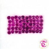 พลอย ( Pink Sapphire ) 1.12  กะรัต