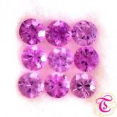 พลอย ( Pink Sapphire ) 1.53  กะรัต