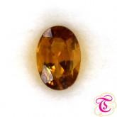 พลอยบุษราคัม ( Yellow Sapphire ) 0.60 กะรัต
