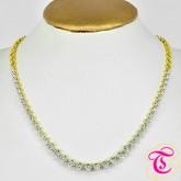 สร้อยคอสังวาลย์เพชร ทองคำแท้ 90 ประดับเพชรเบลเยี่ยม 3.46 กะรัต สินค้ามีใบรับประกันจากทางร้านทุกชิ้น