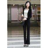 กางเกงขายาวแฟชั่นเกาหลี NO.000186