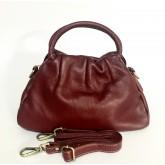 กระเป๋าหนังแท้ tlux  Item  AD002RR สีแดงเข้ม
