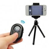 รีโมทถ่ายรูปไร้สาย สีดำ ของแท้ AshutB AB Shutter 3 Bluetooth remote shutter ใช้ได้ iOS และ Android