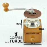 เครื่องบดกาแฟมือหมุน ANTIQUE GRINDER COFFEE MILL MANUAL รุ่น kasspo 9500 ที่บดกาแฟมือหมุนกล่องไม้
