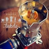 หม้อต้ม กาแฟ สด เอสเพรสโซ่ อลูมิเนียม 1 คัพ/ช๊อต Pezzetti Ver.2 moka pot aluminuim espresso pot
