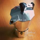 หม้อต้ม กาแฟ สด เอสเพรสโซ่ อลูมิเนียม 3 คัพ/ช๊อต Pezz etti moka pot aluminuim 3 cup/shot espresso