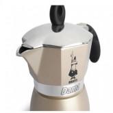 Bialetti หม้อต้ม กาแฟ moka pot รุ่น moka Dama ขนาด3 Cup (GOLD)(3 cup) moka pot