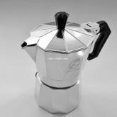 MOKA POT Ogni ora VER1 หม้อต้ม กาแฟ เอสเพรสโซ่ 3 cup สีเงิน หม้อต้ม กาแฟสด เครื่องทำ กาแฟสด