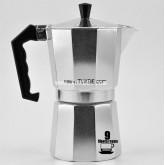 หม้อต้ม กาแฟ สด เอสเพรสโซ่ อลูมิเนียม 9 คัพ/ช๊อต Pezzetti Ver.2 moka pot aluminuim 9cup espresso pot